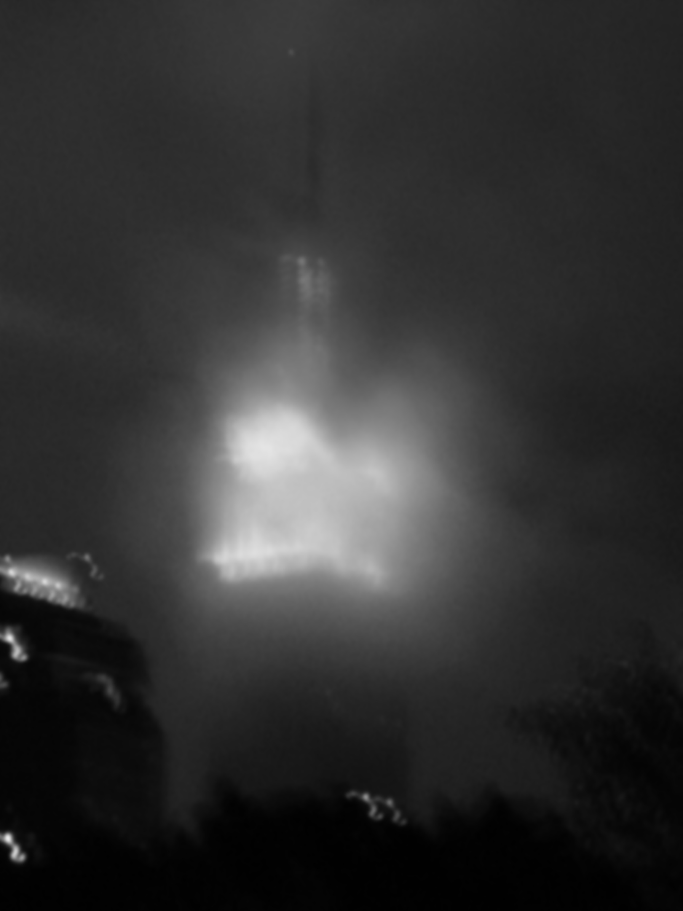 Cloudy Empire State Building