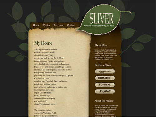Sliver Poetry