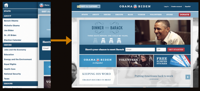 Obama responsive navigation