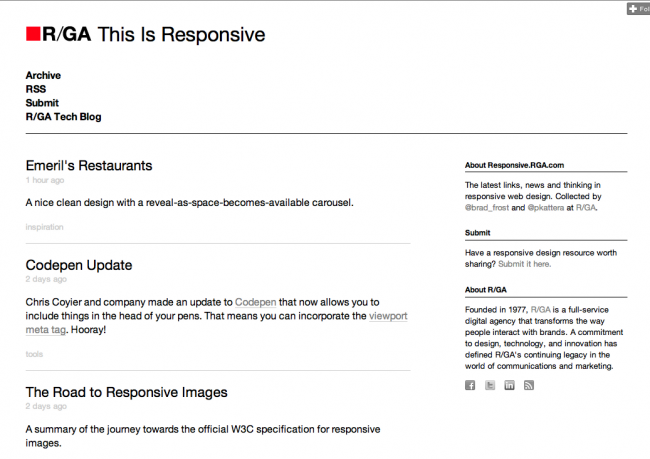 This Is Responsive Blog