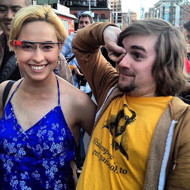 Trolling Google Glass