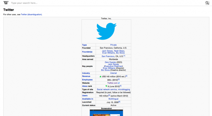 mobile Twitter site on desktop