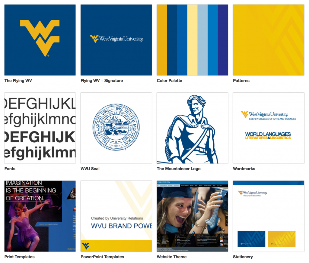 WVU's Brand Identity Guidelines