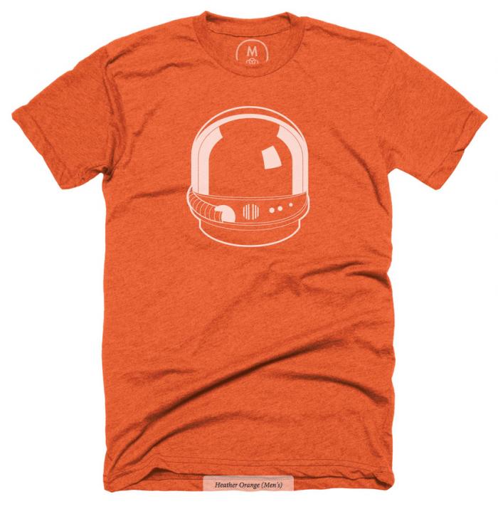Cotton Bureau – Future Friendly Orange T-Shirt