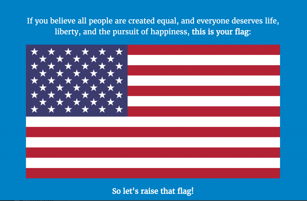 raisethatflag.us screenshot