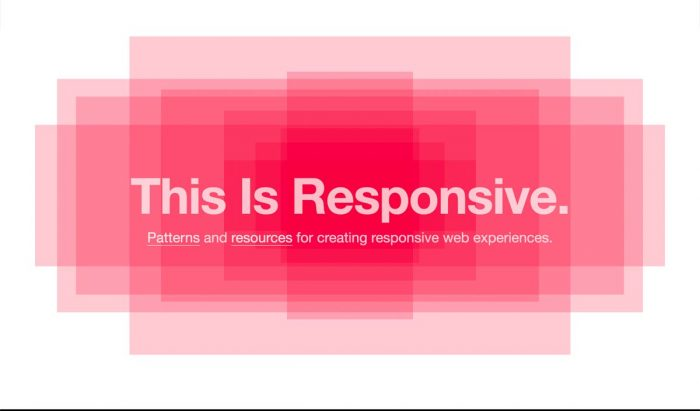This Is Responsive