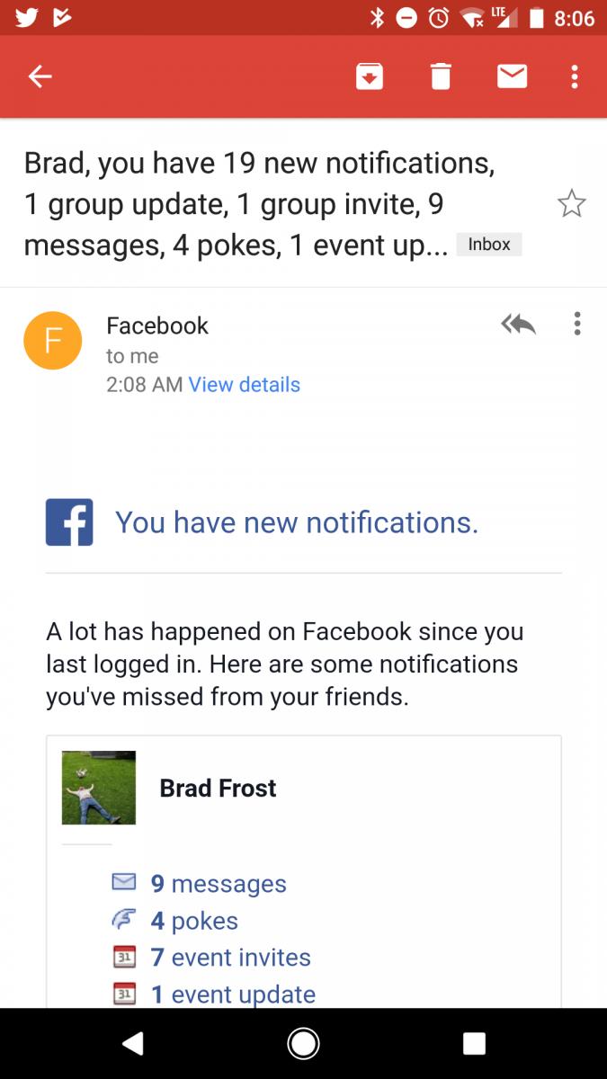 Facebook, You Needy Sonofabitch
